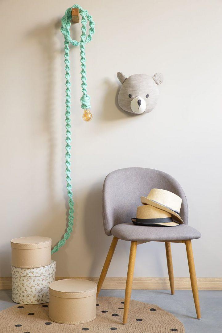 lampa sznurowa długi sznur