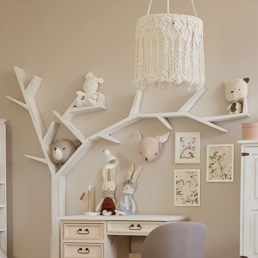 snurowa lampa do pokoju dziecka