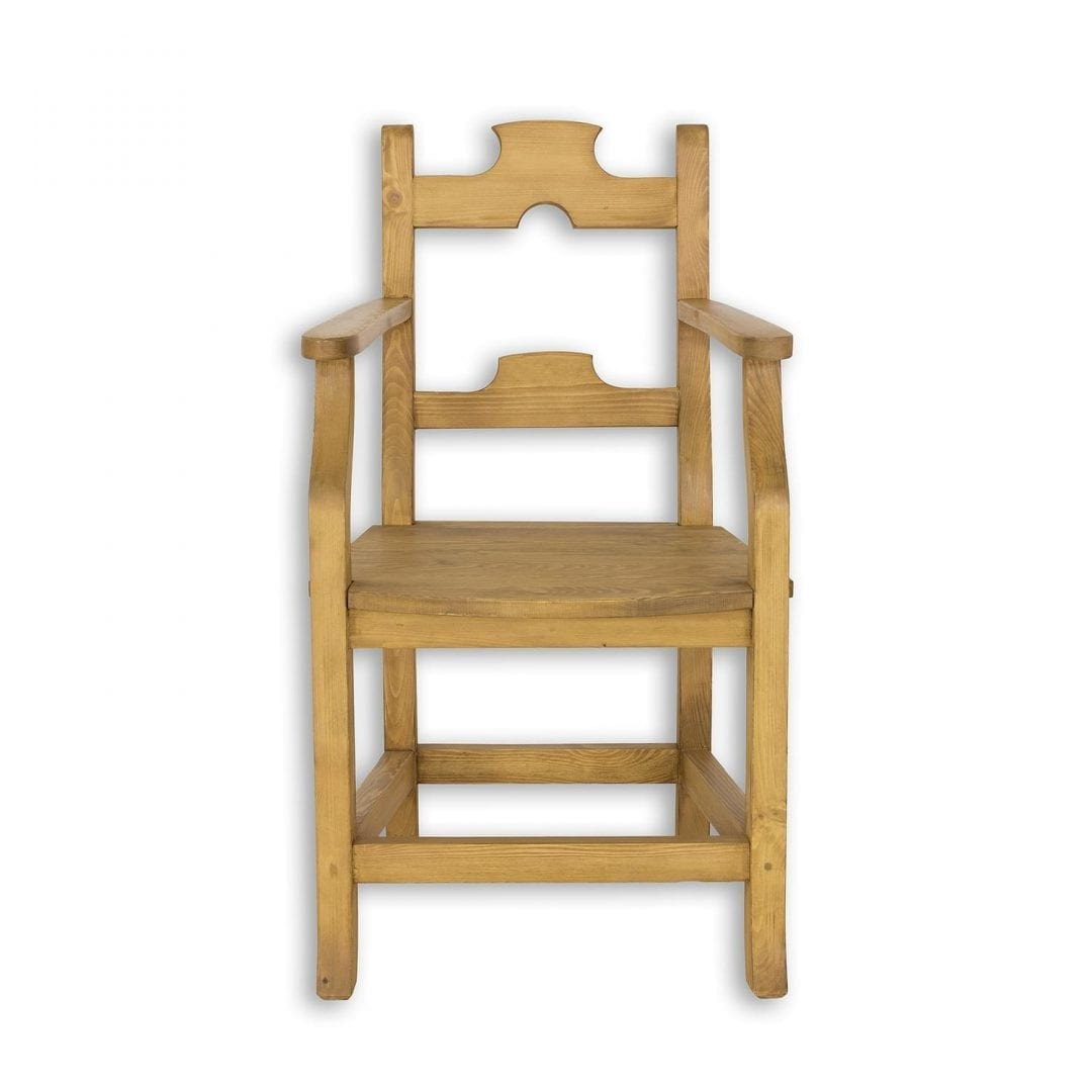 Drewniany fotel SIL12